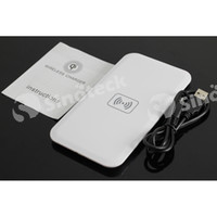 wireless Charger For LG  QI Wireless Charger for mobile phone Charging Station PAD Transmitter Chargers MC-02A Battery Power Supply for iPhone 4 5 5S 6 S4 Free DHL