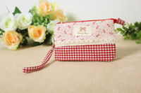 Wholesale Hot Selling Floral Phone Bag Useful Women Clutch Bag Coin Wallet