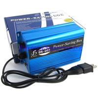 Wholesale 20pcs KW Power Electronic Energy Saver Equipment Saving Box Up to Money With EU amp US Standard AC Power Adapter Plug Retail Package