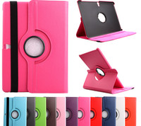 Wholesale 360 Rotating Rotary PU Leather Stand Smart Case Cover For Samsung Galaxy Tab S tabs T800 inch T700360 stand leather case