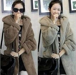 Wholesale Fashion women cape poncho jacket winter warm plush pashm hooded cap hat coat outwear PU leather belt Sashes clothing apparel