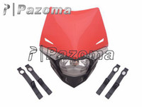 Wholesale PAZOMA high quality motorcycle headlight MOTORCYCLE ROAD LEGAL Streetfighter Enduro LED Headlight for HONDA XR CRF MTX XLR