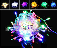 Wholesale Hot Sale LED Light Strings Flashing Festival Decoration Christmas Wedding Celebration Outdoor Waterproof Star Colorful Lights Meters