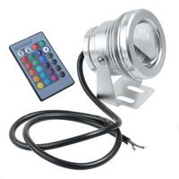 Wholesale Colorful W V LM Color LED Underwater Light Lamp Convex Lens led Under water lighting H4675