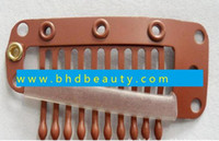 wig clips - wig clips snaps extension wig weft pieces stainless steel with painting