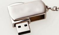 memorygeek usb stick - 64GB GB GB USB Flash Drive Memory Stick Pen Silver Metal With Keyring Swivel free dropshipping