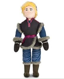 Wholesale 2014 New Frozen Kristoff Plush Dolls cm Stuffed Elsa Anna Soft Toys Baby Toy Girls Christams Birthday Party Gift