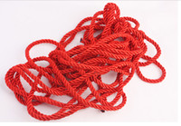 Wholesale Sex Products Red string tied rope bondage Passion improve emotion cotton