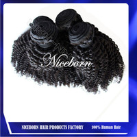 Wholesale SGS Certification Cheap A Virgin Malaysian Curly Hair Extensions Virgin Human Hair Weave Afro Kinky Curly Hair Bundles