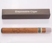al por mayor cigar cigarette-Novedad cigarrillo desechable cigarro electrónico 1500 Puffs cigarro sabor E cigarrillos de vapor del cigarrillo con fina caja de regalo el envío libre
