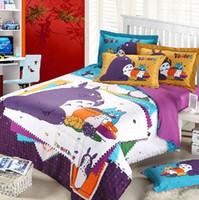 Cheap 100% Cotton cartoon bedding Best Woven Home bedroom bed