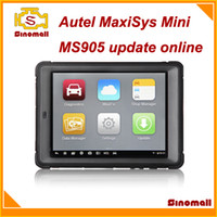 Wholesale Newest version Autel MaxiSys Mini MS905 MS Professional auto diagnostic scanner update online quad core processor Android system