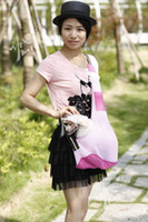 Wholesale lovely pink sling pet carrier