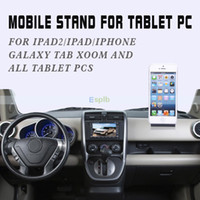 Universal   Universal Portable Fold-up Desk Mount Bracket Stand Holder For Apple iPad 2 3 4 5 air mini iphone 4 4S 5S Tablet PC Samsung