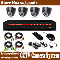 Wholesale cctv camera system kit d1 ch dvr kit with hdmi port tvl cmos cctv camera kit security surveillance kit