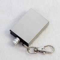 Wholesale 50pcs New Stainless steel Flints Survival Emergency Fire Starter Flint Metal Match for Camping Survival Cooking Lighter Hiking CW0213