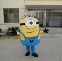 Wholesale 8 styles Despicable me minion mascot costume for adults despicable me mascot costume mno p
