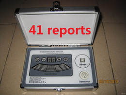 Wholesale 2014 New th generation comparative reports core Quantum Magnetic Resonance Analyzer version DHL free ship