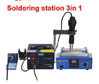 Cheap The excellent performance of welding preheat equipment & desoldering station machine combination 853A&862D+, desoldering easier
