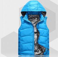 Wholesale Hot New Man waterproof outdoor down vest vest cultivate one s morality man down vest Men s down vest