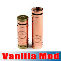Free Shipping !!! vanilla mod Red copper material Mech mod v...