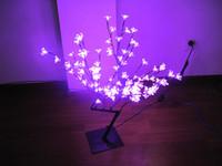 Cheap LED Bonsai Cherry Blossom Tree Light LED bonsai tree Best 96pcs LEDs 110V/220VAC led cherry blossom tree