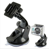 gopro accessories - New Arrive Go pro Sports Action Mount Camera GoPro Accessories Window Mount Suction Cup Base Tripod For GoPro HD Hero3 Black Edtion