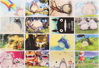 Wholesale Japanese Style Totoro Hayao Miyazaki Edition blessing Postcards Greeting Cards