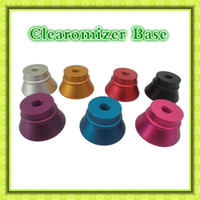 Wholesale Colorful Clearomizer Base Atomizer Stand Aluminum Holder the advance tools for Thread Clearomizer by DHL