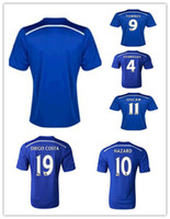 Soccer chelsea - Thailand Quality Season England Chelsea Home Soccer Jersey Football Jerseys OSCAR TORRES FABREGAS HAZARD DIEGO COSTA