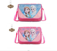 Wholesale Hot Sale Frozen bags for girls Anna Elsa Olaf Prince school bags for kids children school backpacks messenger