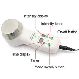 Wholesale Ultrasonic cavitation Slimming Body Massager Hand Mini Slimming Machine for Home Use