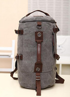 Backpacks backpack tool bags - New Arrival Vintage Designer School Bags Large Place Canvas Tool Bags Leisure Outdoor Sport Travel Bag