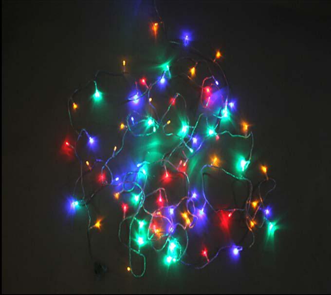 New Led Little Light Strings Flashing Light Outdoor Waterproof Holiday Decoration Light ...