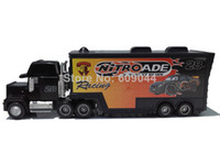 5-7 Years diecast toy - retail Pixar Cars No Hauler Team Racing Diecast MACK TRUCK Trailer Truck Toy Car Model Toys gt Diecast Cars Model Vehicle