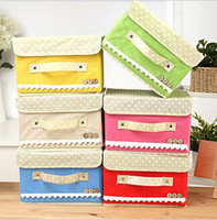Wholesale Foldable Nonwoven Underwear Clothing Storage Box home decor organization