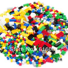 2017 Free Shipping Assembling building blocks 1000 granules diy granules building blocks gruond building 6Size blocks bulk