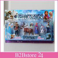 2014 New Arrival Frozen Figure Play Set Retail original Froz...