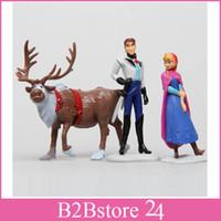Frozen Action Figure Play Set 6 Piece Figurine Playset Anna ...
