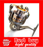 Saltwater   6BB Ball Bearings Fishing high-grade spinning wheel fishing line wheel Spinning Reel GWMA 5000 5.17:1 for Outdoor Sports