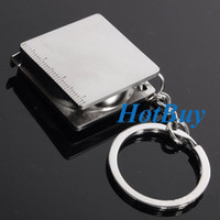 Wholesale Practical Creative Tape Measure Keychain Key Chain Ring Keyring