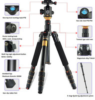 Wholesale Q666 QZSD Professional Photographic Portable Tripod Set For Digital SLR Camera Only cm Load Bearing Kg