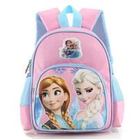 Wholesale New design Frozen CM School bag Princess Children Backpack Rucksack Kids Book bags