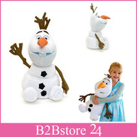 2014 New Arrival 30cm Cartoon Movie Frozen Olaf Plush Toys C...