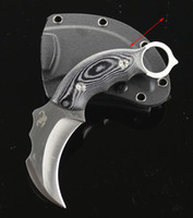 Fixed Blade fixed blade knife - Special offer Scorpion Claw knife Karambit EDC Pocket knife Fixed Blade combat camping Knife AUS A HRC Blade gift knife
