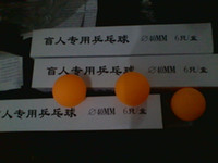 Wholesale The blind supplies The blind entertainment supplies Table tennis sporting goods for the blind the blind