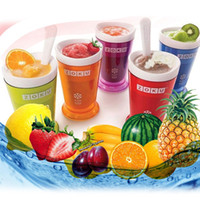 Wholesale Zoku Shop sand ice cup smoothie cup ice cream machine self restraint slush maker shake maker By DHL with retail box
