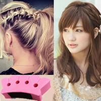 Wholesale New Arrival Magic Braid Queue Plait Braider Sponge Twist Style Beauty DIY Hair Tool Wholesales