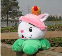 Wholesale cm High Quality Legal Copy PP Cotton Plants vs Zombies Pendant Typha Cat Tail Lovely Plush Toys For Children