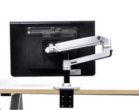 Wholesale LCD monitor arm displayer shaft holder for under quot screen rejustable